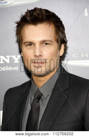 LOS ANGELES, CALIFORNIA - August 1, 2012. Len Wiseman at the Los Angeles premiere of