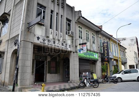 General View Of Perak Chinese Mining Association In Ipoh, Malaysia