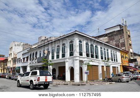 Victorian Neo-renaissance Heritage Building In Ipoh At Belfield Street