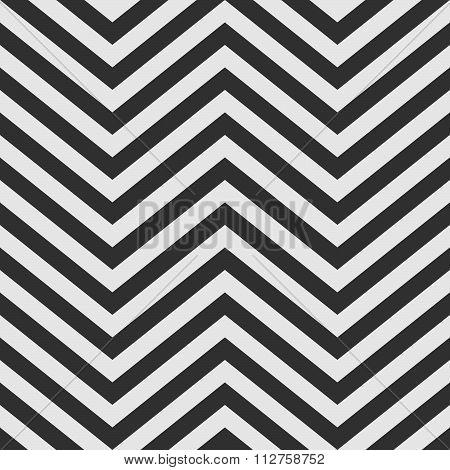 Black And White V Shape Chevron Background
