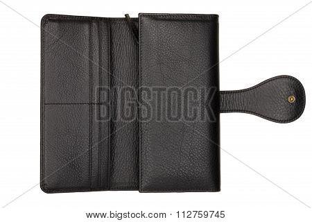 Black Opened Female Purse