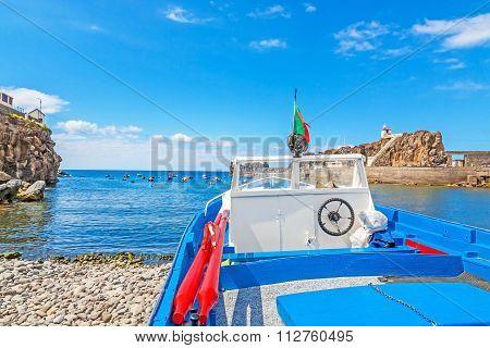 Boat At The Harbor / At Land