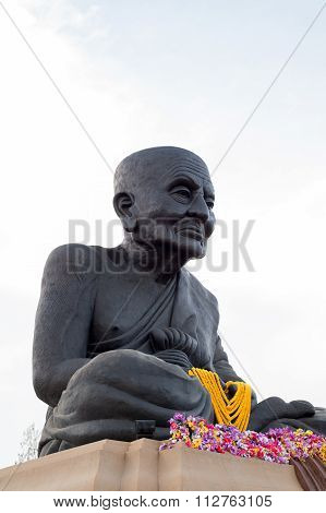 Hua Hin Thailand - Apr27 , 2015 : Statue Of Luang Pu Thuat  Are Buddha The Largest In The World At H