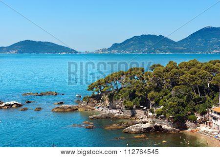Fiascherino Beach - Golfo Dei Poeti Liguria
