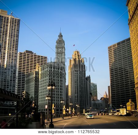 Cityscape of Chicago - Chicago, IL