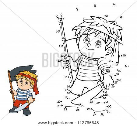 Numbers Game (pirate Boy)