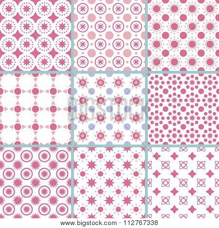 Vector illustration of a pattern