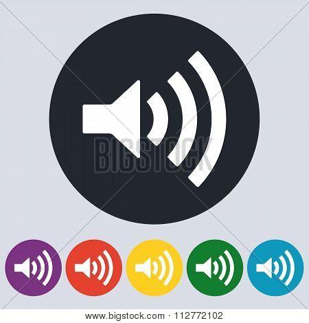 Stock Vector Linear icon sound