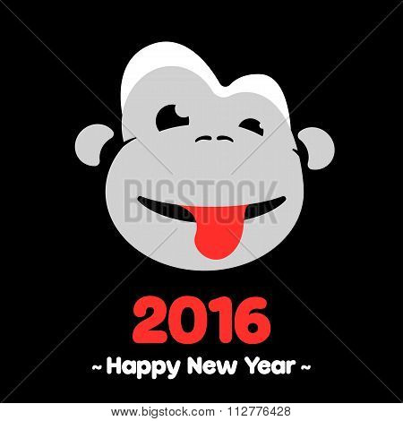 Monkey for the year of the monkey 2016