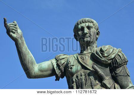 Emperor Caesar Augustus Trajan The Conqueror