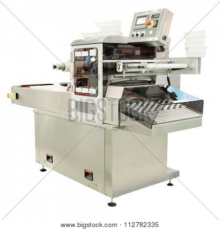 image of a baking machine