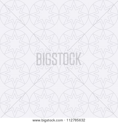 Vector illustration of a seamless linear pattern