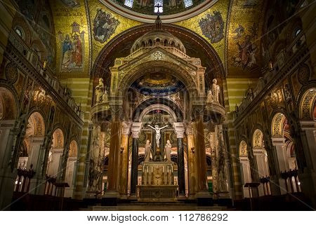 Saint Louis Basilica Main Altar - Saint Louis, MO