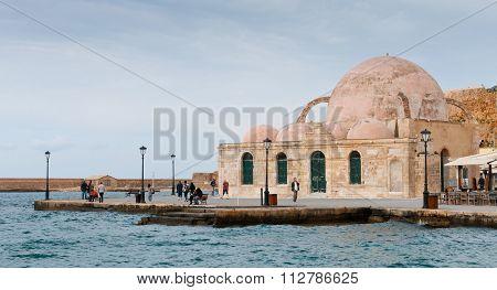 Yiali Tzami Turkish Mosque Chania Crete