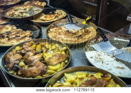 Traditional Burek Dish
