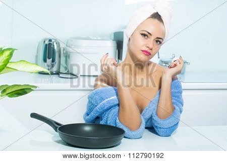 Sexy Cooking Housewife