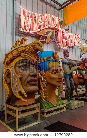 New Orleans Mardi Gras World