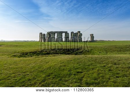 Stonehenge In Wiltshire Uk