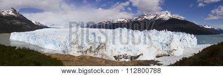 Face Of Perito Moreno Glacier, Los Glaciares National Park, Argentina