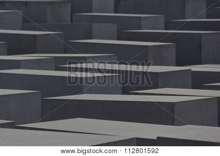 jews memorial berlin, geometric, architecture, light, shadows, multiplication, symmetry