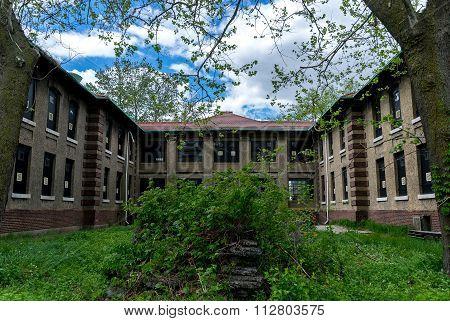 New York City Ellis Island Infirmary