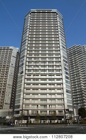 High-rise condominium in Yokohama Minatomirai 21 Japan