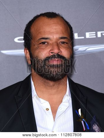 LOS ANGELES - NOV 16:  Jeffrey Wright arrives to the