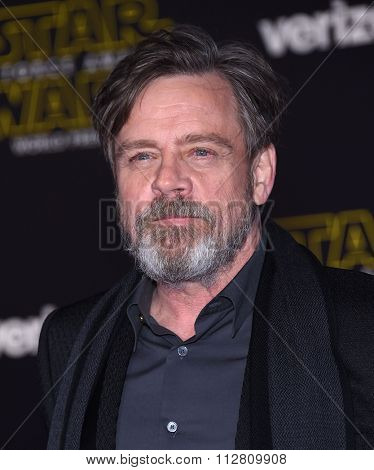 LOS ANGELES - DEC 14:  Mark Hamill arrives to the