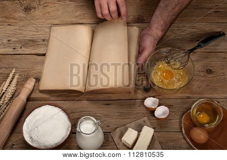 Products For The Preparation Of Dough Or For Baking