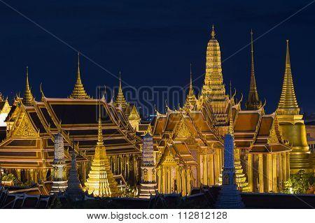Grand palace and Wat phra keaw