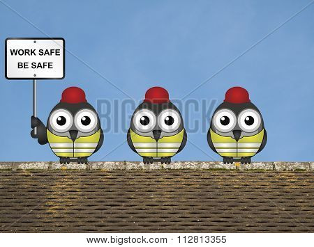 Work Safe Message