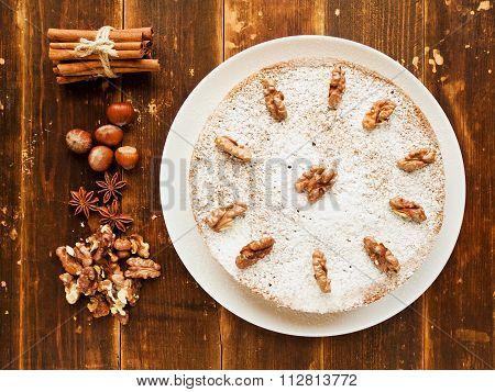Winter Nut Pie