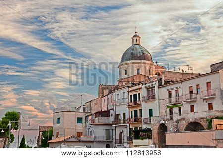 The Ancient Town Ortona, Abruzzo, Italy