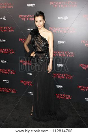 Li Bingbing at the Los Angeles premiere of