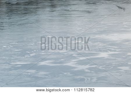 Frozen Lake Surface