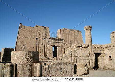 Edfu Temple, Egypt