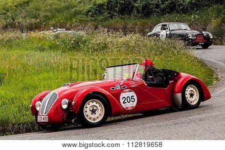 HEALEY 2400 Silverstone 1950