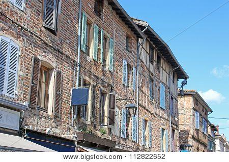 Street in Châtillon-sur-Chalaronne