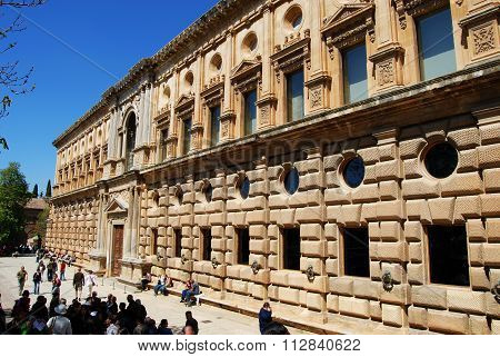 Carlos V Palace, Granada.