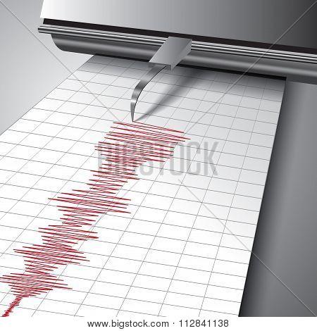 Seismograph Chart