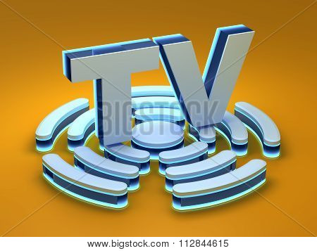 TV (Television) signal background
