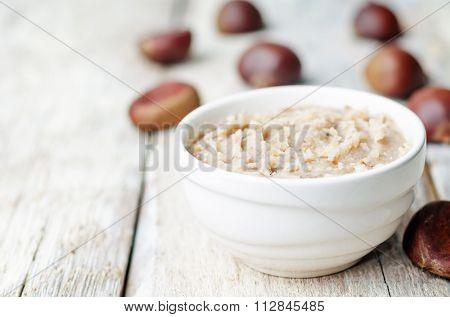 Homemade Chestnut Paste