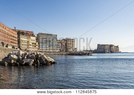 view of Naples seafront