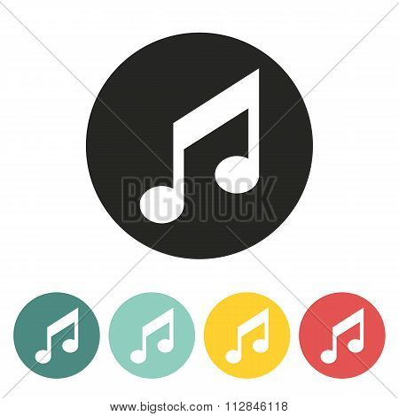Music Note Icon.