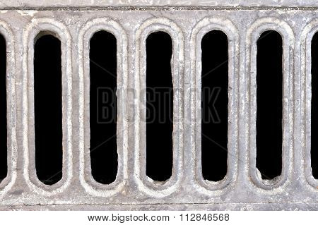 Rectangle drain water