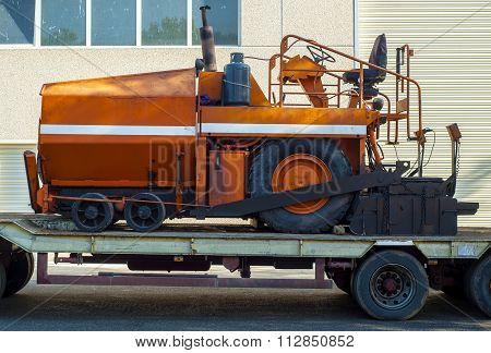 A paver finisher asphalt finisher or paving machine