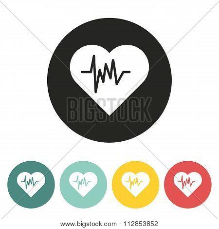 Heartbeat Icon.