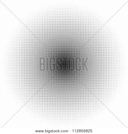 Vector illustration of a halftone