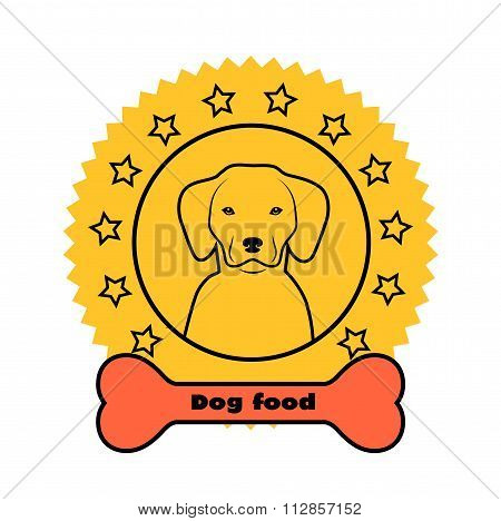 Goods For Dogs Label
