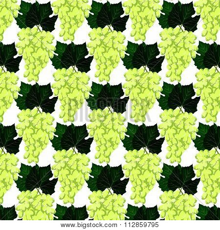 Grapes clusters pattern